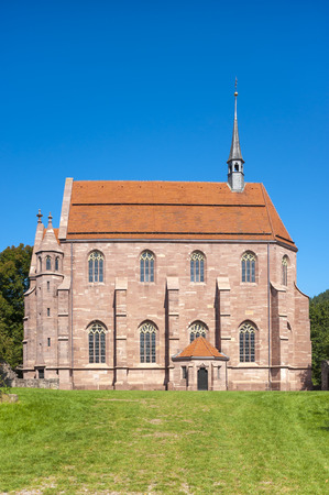 The Marien-chapel in the historical monastery Hirsau in the Black Forest, Baden-Wurttemberg, Germany, Europe