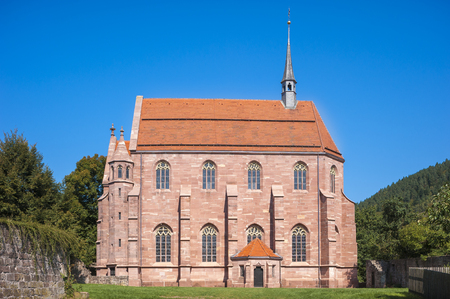 abbeys: The Marien-chapel in the historical monastery Hirsau in the Black Forest, Baden-Wurttemberg, Germany, Europe