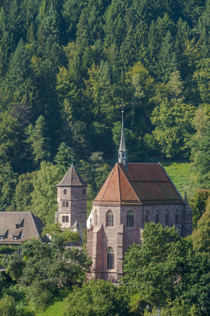 edifices: Kloster Hirsau with Marienkapelle, Hirsau, Black Forest, Baden-Wrttemberg, Germany, Europe