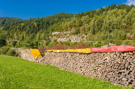 feedstock: Scenery by the river Murg in Forbach, Black Forest, Baden-Wurttemberg, Germany, Europe