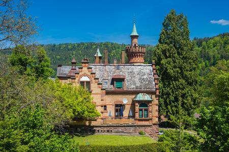 Historische Villa in Bad Liebenzell, Schwarzwald, Baden-Württemberg, Deutschland, Europa