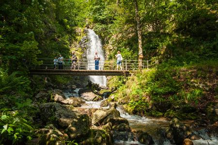 Todtnauer Wasserfälle, Schwarzwald, Baden-Württemberg, Deutschland, Europa