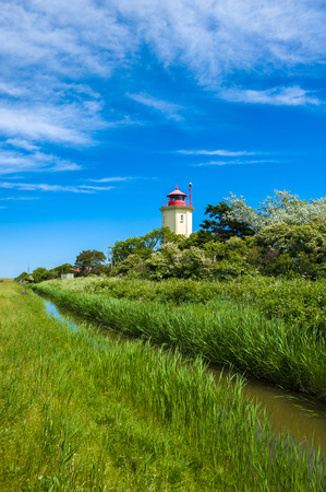 The Lighthouse of Westermarkelsdorf on the Fehmarn Island