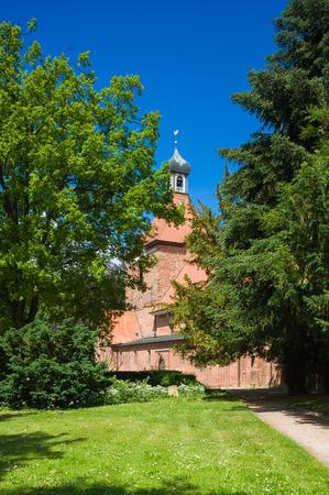 Saint Johannis church in Oldenburg Holstein at the Balstic Sea Stockfoto