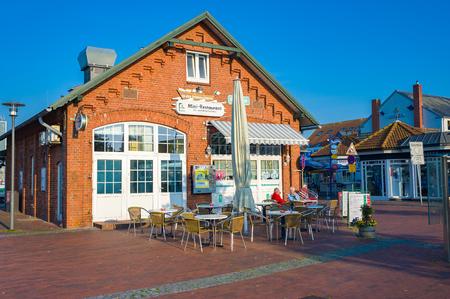 Restaurant in the fishing port of Heiligenhafen