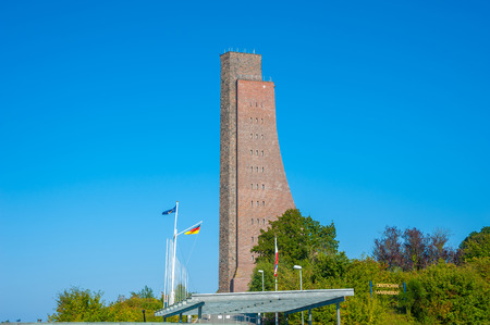 The naval memorial in Laboe at the Baltic Sea