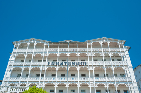 Hotel F�rstenhof in Sassnitz on the island of R�gen at the Baltic Sea