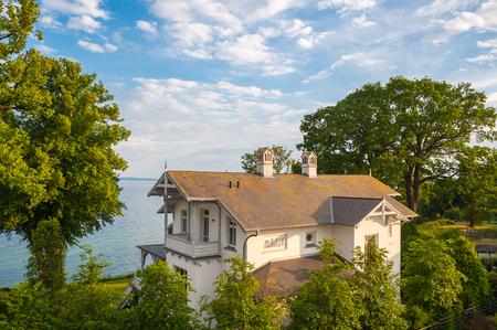 Historic Villa, Sassnitz, Ruegen, Mecklenburg-Vorpommern, Germany, Europe