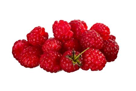 heap: A heap of red raspberries