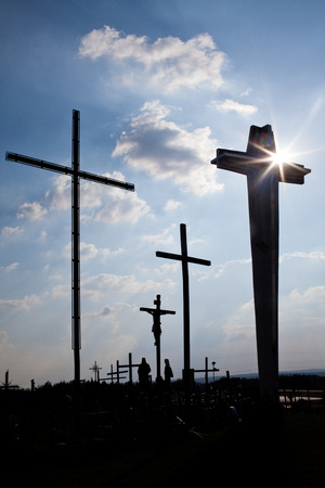 nailed: The cross symbol of God is love to people