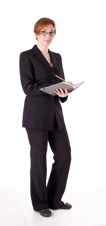elegance: Elegance woman in suit