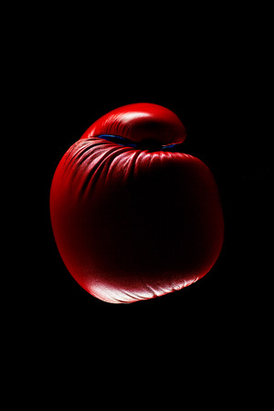 padding: Red Boxing Gloves on dark background