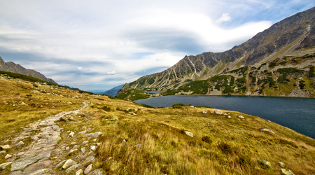 non moving activity: Summer mountain landscape in the Polish Tatry