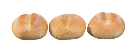 whole wheat: whole wheat bagels isolated on white background.