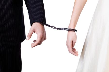 cuffed: Cuffed hands