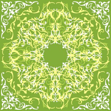 Ornamental design, digital artwork Stock Photo - 1207374