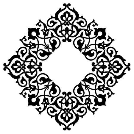 Ornamental design, digital artwork, background Stock Photo