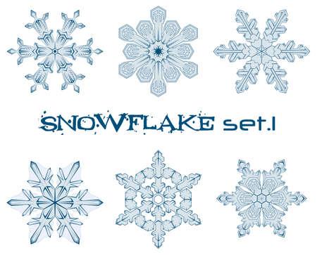 sopel lodu: niektórych wzorów zimowych śnieżynkami