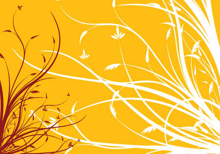abstract spring floral decorative background vector illustration illustration