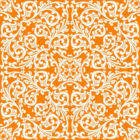 abstract floral pattern, vector illustration, decorative element Stock Illustration - 1217106