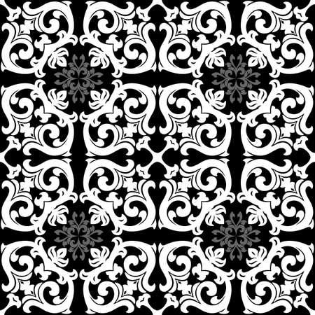 abstract floral pattern vector illustration decorative element Stock Illustration - 1217108