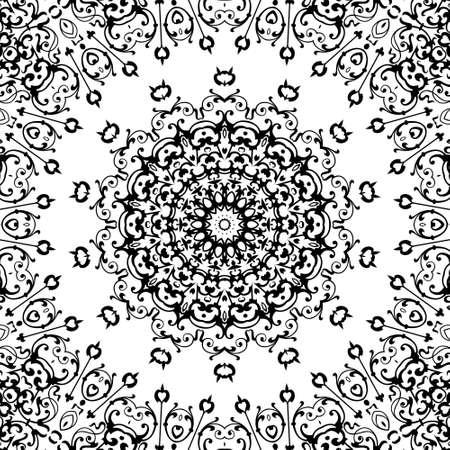 Ornamental design, digital artwork, pattern photo