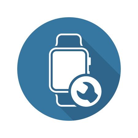 Gadget Repair Icon. Flat Design Isolated Illustration.