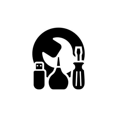 Maintanance Kit Icon. Flat Design.