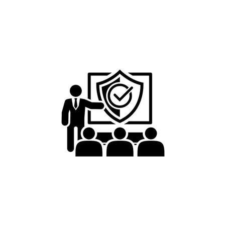 Security briefing icon.