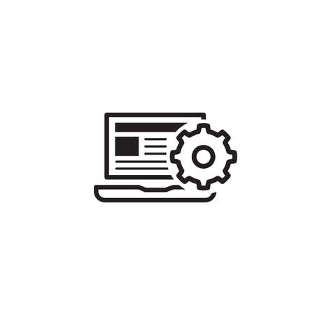 Product Integration Icon. Flat Design. Illustration