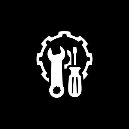 Repair Service Icon. Flat Design.