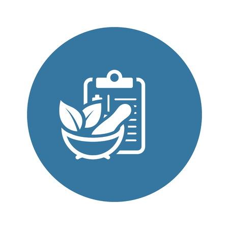 Herbal Medicine Flat Icon