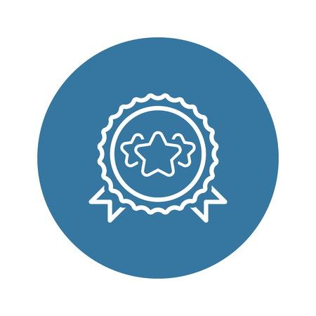 Best Choice Line Icon. Stock Illustratie