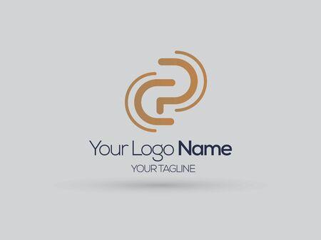 cp logo reflection mentoring logo c and p Logó