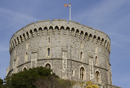 Queen in Residance. Windsor Castle , the oldest and largest occupied Castle in the World. The official residence of Her Majext Queen Elizabeth II
