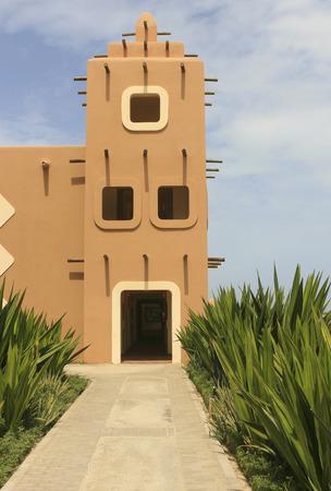 moorish: African Moorish Building Stock Photo