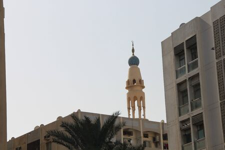 mosque tower in united arab emirates