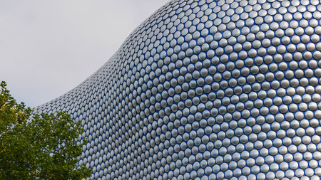 Birminghamm, UK - October 3rd, 2017: the Bullring Shopping Centre, Birmingham, England