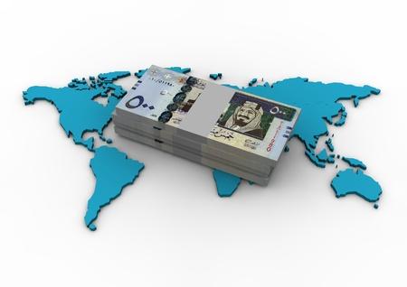 gcc: Globe and Saudi Arabia Money