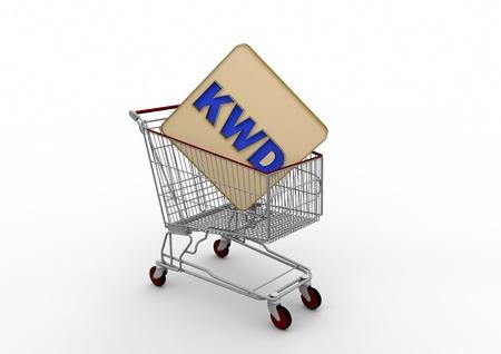 dinar: Internet shopping cart Kuwait Dinar