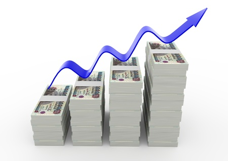 increment: 3D United States of America Money growth