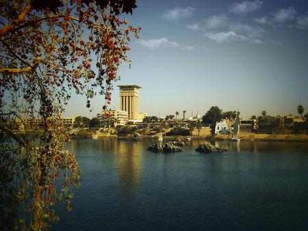 Nile River Stock Photo