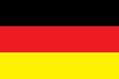 german flag Illusztráció