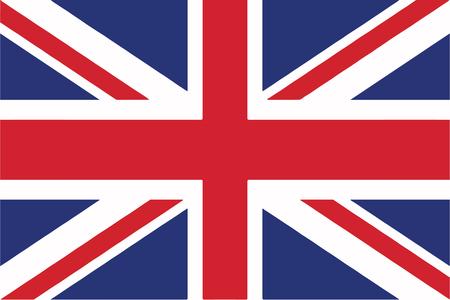 Flaga Zjednoczonego Królestwa Ilustracje wektorowe