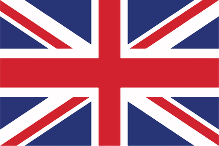 flag vector: United Kingdom Flag