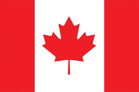 Flag Canada 일러스트