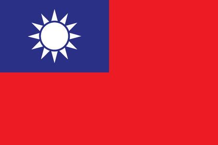 Flag of Taiwan.