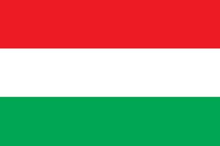 Hungary Flag 向量圖像