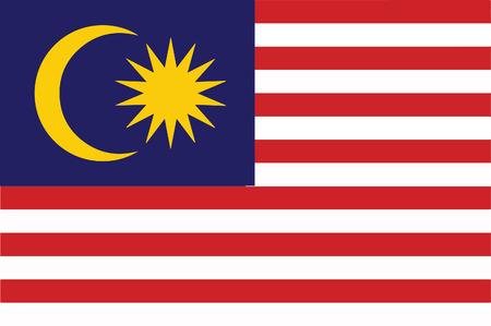 マレーシアの国旗 写真素材 - 46779773