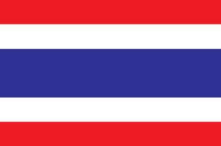 Thailand Flag Illustration